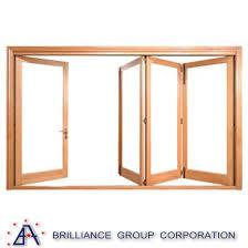 outdoor accordion glass folding door aluminum frameless glass folding door