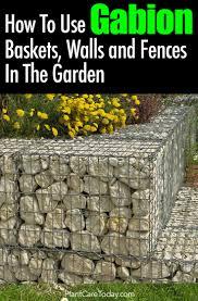 gabion baskets walls and fences