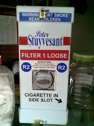 Loose Cigarette Vending Machine For Sale Gorgeous Vending Coin Operated Loose Cigarette Vending Machine Was Sold