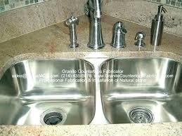 kitchen sinks for granite countertops surroundingsbiz undermount sinks for granite countertops installing undermount bathroom sink granite countertop