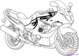 Motor bike drawing at getdrawings free for personal use motor