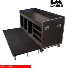 workstation lighting. Installed Audio/Lighting Workstation W/Integrated Platform Lighting O