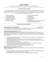 Accounting Sample Resume Sample Resume Letters Job Application