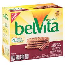 belvita breakfast biscuits cinnamon brown sugar1 76 oz x 5 pack