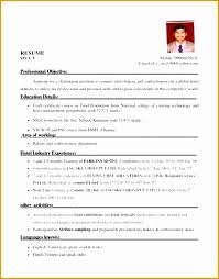40 Fresh Photograph Of Hotel Industry Resume Format Interesting Resume Format Hotel Industry