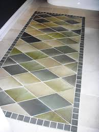 How to Create an Inlaid Tile Rug how tos DIY
