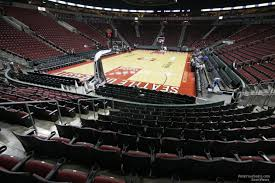 Key Arena Detailed Seating Chart Keyarena Section 108 Basketball Seating Rateyourseats Com