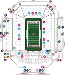 Oklahoma Stadium Seating Oklahoma Theres Only One