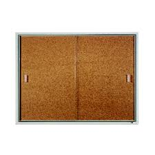 quartet furniture. Quartet® Classic Style Enclosed Cork Bulletin Boards For Indoor Use, Sliding Door, Aluminum Quartet Furniture S
