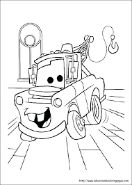 Cars Coloring Sheet Cars Printable Coloring Pages Printable Coloring
