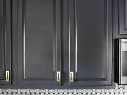cabinet handles for dark wood. Interior. Black And White Kitchen Decoration Using Basket Weave Tile Backsplash Including Cabinet Handles For Dark Wood H