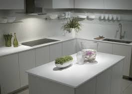 White Kitchens With White Granite Countertops White Kitchen Cabinets Light Countertops Quicuacom