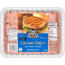 first street ground turkey