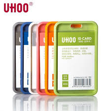 Work Identity Card Uhoo 6026 Work Id Badge Name Tag Business Id Card Holder Work Id