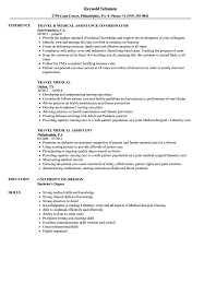 Travel Medical Resume Samples Velvet Jobs