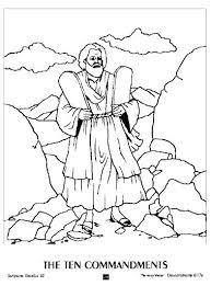 Coloring Pages 10 Commandments Bible Coloring Pages 10 Commandments
