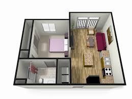 Small One Bedroom House Plans With Loft Elegant E Bedroomrtment Floor Plans  Further Dance Studio Plan