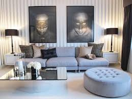 gray living room furniture modern boxes design beige soft indoor area rugs wall mount book shelf monochrome wall art lamps shades pendant light