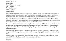 hot cover letter examples for customer service positions strong