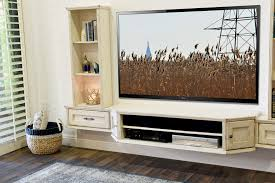 White Living Room Cabinets Tv Stands Contemporary White Floating Tv Stand Design Ideas
