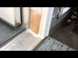 exterior door jamb. Solution For Rotten Exterior Door Frame Jamb