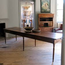 Large Farmhouse Kitchen Table Large 19th Cent French Farmhouse Antique Dining Table In Elm
