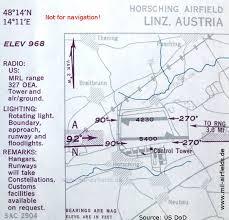 Linz Hörsching Airport Historical Approach Charts