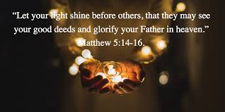 Image result for let your light shine