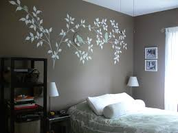 Cool Wall Painting Ideas Bedrooms Beautiful On Bedroom Intended For Paint  Along With Home Decorating 5
