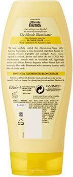 Garnier Ultimate Blends Blonde Illuminator Conditioner 400ml: Amazon.co.uk:  Beauty