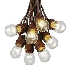 100 foot s14 led edison outdoor string lights commercial grade string lights backyard garden