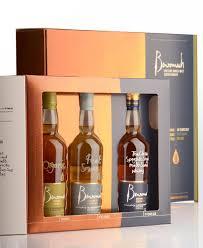 benromach single malt scotch whisky 3x200ml trio case gift pack