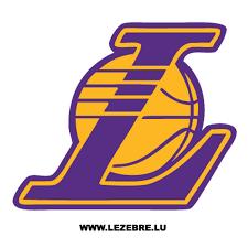 Sticker Los Angeles Lakers Logo 2