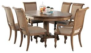 american drew grand isle 7piece round dining room set in amber 7 piece dining room set m79