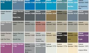 The U S Government Has Their Own Official Color System Core77