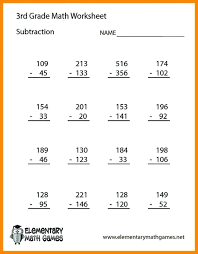 3 Grade Math Word Problems Free Printable Worksheets For Second ...