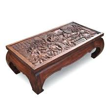 thai coffee table home crafts wood carved teak coffee table decoration southeast tea table and chairs thai coffee table