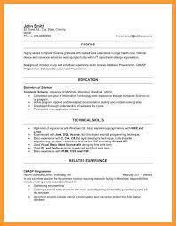 Resume Template For New Graduates 8 9 Resume Templates For New Graduates Aikenexplorer Com