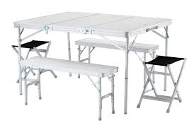 furniture aluminium portable folding picnic table chairs set fold up and kampa happy chair alluring
