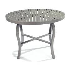 48 round patio table with umbrella hole inch outdoor dining furniture 48 inch round glass patio table top