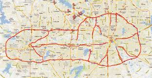 a map of dallas fort worth highway systems looks like a Map Fort Worth Texas a map of dallas fort worth highway systems looks like a circumcised penis with wrinkly balls stay classy texas map fort worth texas area