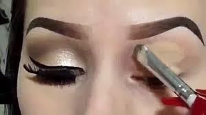 how to do golden eye make up video tutorial