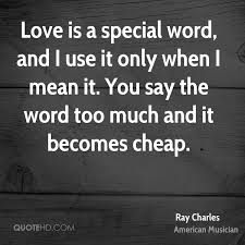 Ray Charles Love Quotes Quotehd