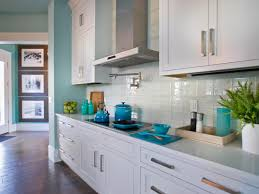 kitchen backsplash glass tile white cabinets. Glass Tile Backsplash Ideas Kitchen White Cabinets HGTV.com