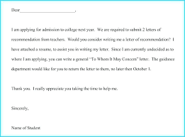 Email Template Requesting Recommendation Letter Teaching Reference