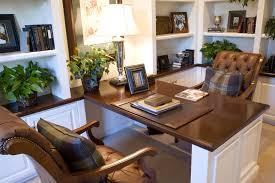 kansas oak hidden home office.  Office White Home Office With Stained Wood Countertop To Kansas Oak Hidden