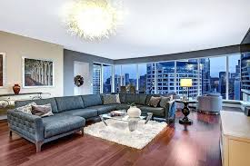 big living rooms. Large Living Room Ideas Contemporary With Inspired Light  Fixture And City Views Big . Rooms