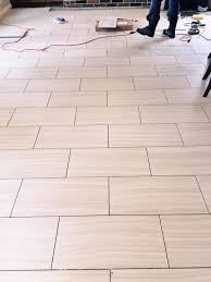 Kitchen And Bathroom Floor Tiles Which Direction Should You Run Your Tile Flooring Well Designed