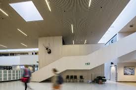 Norway Design School Voss High School Nordic Office Of Architecture Aart