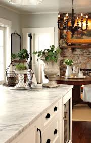 Wall Color For White Kitchen Cabinets Trim Ceiling White Dove Wall Color Is Gray Owl Both